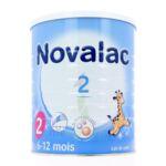 NOVALAC LAIT 2 BOITE 800G à Poitiers