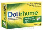 DOLIRHUME PARACETAMOL ET PSEUDOEPHEDRINE 500 mg/30 mg, comprimé à Poitiers