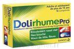 DOLIRHUMEPRO PARACETAMOL, PSEUDOEPHEDRINE ET DOXYLAMINE, comprimé à Poitiers