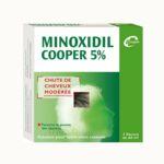 MINOXIDIL COOPER 5 %, solution pour application cutanée à Poitiers