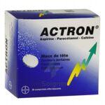 ACTRON, comprimé effervescent à Poitiers