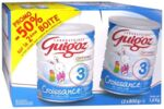 GUIGOZ LAIT CROISSANCE 3 2X800GR à Poitiers