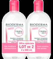Crealine Ts H2o Solution Micellaire Sans Parfum Nettoyante Apaisante 2fl/500ml à Poitiers