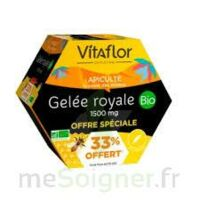 Vitaflor Bio Gelée Royale 1500mg Solution Buvable 20 Ampoules/15ml Promotion à Poitiers