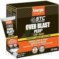 STC Nutrition Over Blast® PERF'CD- Sprint- Fruits Rouges Gel à Poitiers
