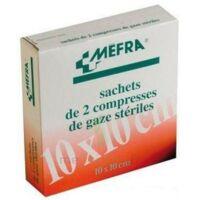 Mefra, 10 Cm X 10 Cm, Sachet De 2, 50 Sachets, Boîte 100 à Poitiers