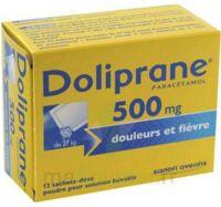 DOLIPRANE 500 mg Poudre pour solution buvable en sachet-dose B/12 à Poitiers