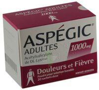 ASPEGIC ADULTES 1000 mg, poudre pour solution buvable en sachet-dose 15 à Poitiers