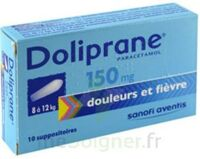 DOLIPRANE 150 mg Suppositoires 2Plq/5 (10) à Poitiers