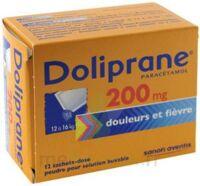 Doliprane 200 Mg Poudre Pour Solution Buvable En Sachet-dose B/12 à Poitiers