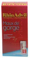 RHINADVIL MAUX DE GORGE TIXOCORTOL/CHLORHEXIDINE, suspension pour pulvérisation buccale à Poitiers