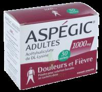 ASPEGIC ADULTES 1000 mg, poudre pour solution buvable en sachet-dose 30 à Poitiers