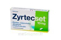 ZYRTECSET 10 mg, comprimé pelliculé sécable à Poitiers