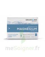 GRANIONS DE MAGNESIUM 3,82 mg/2 ml S buv 30Amp/2ml à Poitiers
