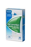 NICORETTE 2 mg Gom à mâcher médic sans sucre menthe glaciale Plq/30gom à Poitiers