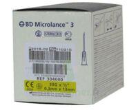 BD MICROLANCE 3, G30 1/2, 0,30 mm x 13 mm, jaune  à Poitiers