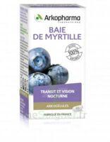 Arkogélules Myrtille baies Gélules Fl/45 à Poitiers