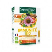 Santarome Bio Immunité Solution buvable 20 Ampoules/10ml à Poitiers