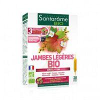 Santarome Bio Jambes légères Solution buvable 20 Ampoules/10ml