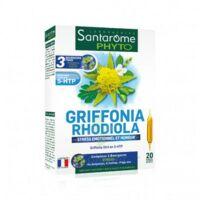 Santarome Bio Griffonia Rhodiola Solution buvable 20 Ampoules/10ml à Poitiers