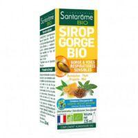 Santarome Bio Sirop gorge Fl/125ml à Poitiers