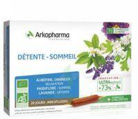Arkofluide Bio Ultraextract Solution Buvable Détente Sommeil 20 Ampoules/10ml à Poitiers