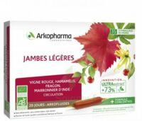 Arkofluide Bio Ultraextract Solution Buvable Jambes Légères 20 Ampoules/10ml à Poitiers