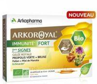 Arkoroyal Immunité Fort Solution Buvable 20 Ampoules/10ml à Poitiers