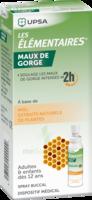 LES ELEMENTAIRES Solution buccale maux de gorge adulte 30ml à Poitiers