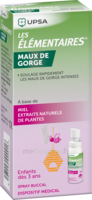 LES ELEMENTAIRES Spray buccal maux de gorge enfant Fl/20ml à Poitiers