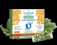 Puressentiel Respiratoire Pastilles Respiratoire aux 3 miels aromatiques - 18 pastilles à Poitiers