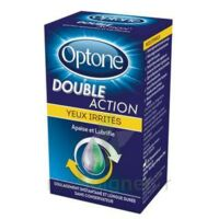 Optone Double Action Solution Oculaire Yeux Irrités Fl/10ml à Poitiers