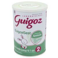 Acheter Guigoz Guigozgest 2 Lait poudre B/800g à Poitiers