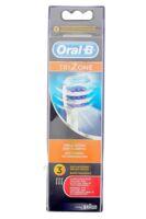 Brossette De Rechange Oral-b Trizone X 3 à Poitiers