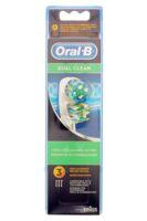Brossette De Rechange Oral-b Dual Clean X 3 à Poitiers