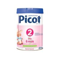 Picot Standard 2 Lait En Poudre B/800g à Poitiers