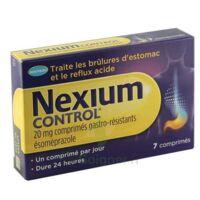 Nexium Control 20 Mg Cpr Gastro-rés Plq/7 à Poitiers