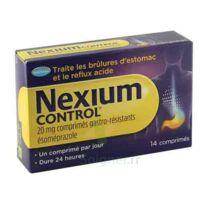 NEXIUM CONTROL 20 mg Cpr gastro-rés Plq/14 à Poitiers