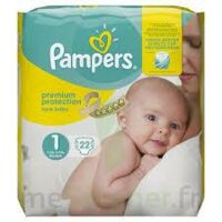 PAMPERS NEW BABY PREMIUM PROTECTION, taille 1, 2 kg à 5 kg, sac 22 à Poitiers