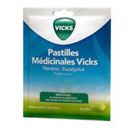 PASTILLES MEDICINALES VICKS Past à sucer menthol eucalyptus Sach/18 à Poitiers