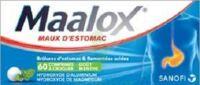 MAALOX HYDROXYDE D'ALUMINIUM/HYDROXYDE DE MAGNESIUM 400 mg/400 mg Cpr à croquer maux d'estomac Plq/60 à Poitiers