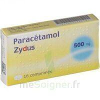 PARACETAMOL ZYDUS 500 mg, comprimé à Poitiers