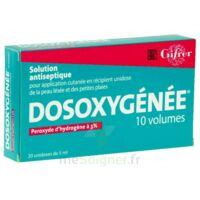 Dosoxygenee 10 Volumes, Solution Pour Application Cutanée En Récipient Unidose à Poitiers