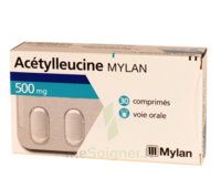 ACETYLLEUCINE MYLAN 500 mg, comprimé à Poitiers