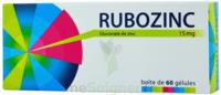 RUBOZINC 15 mg Gél 1Plq/60 à Poitiers