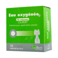 Eau Oxygenee 10 Volumes Gilbert, Solution Pour Application Cutanée En Récipient Unidose à Poitiers
