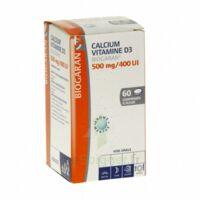 CALCIUM VITAMINE D3 BIOGARAN 500 mg/400 UI, comprimé à sucer à Poitiers