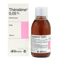 THERALENE 0,05 POUR CENT, sirop à Poitiers