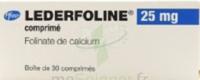Lederfoline 25 Mg, Comprimé à Poitiers