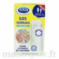 Scholl SOS Verrues traitement pieds et mains à Poitiers